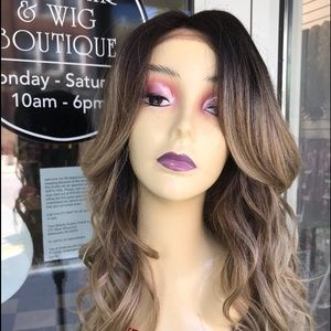 Wig Ash Blonde Ombré Romance Curl New Wig 2019 New